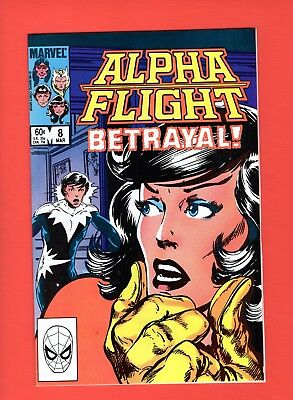 Alpha Flight #8  --  John Byrne - 1st Appearance Nemesis!  -- --  NM  cond.