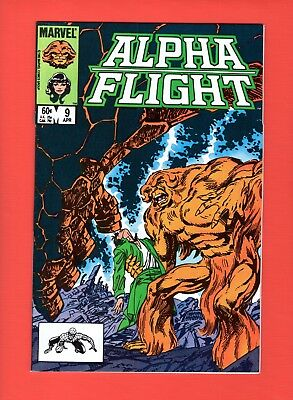 Alpha Flight #9  --  John Byrne - Super-Skrull!  -- --  NM-  cond.