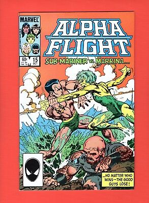 Alpha Flight #15  --  John Byrne - Sub-Mariner!  -- --  VF/NM  cond.