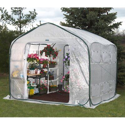 FlowerHouse Farm House 9 x 8-Foot Portable Greenhouse