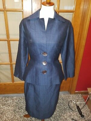1940s Vintage Woolf Brothers Womens Suit