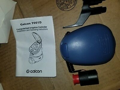 Galcon 7001D 1-Station Battery Operated Controller with DC Latching Solenoid