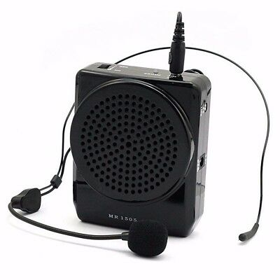 Aker Mr1505 Portable 10W Bruyant Voix Booster Microphone Amplificateur