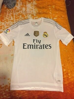 1f61cc31d Real Madrid Authentic Adizero 15 16 Home Shirt Jersey Kit Kroos Small