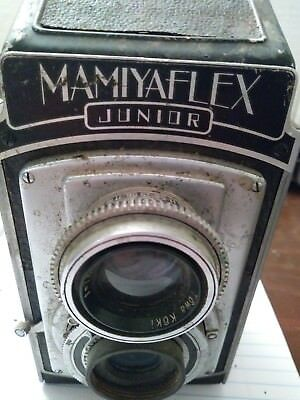 MAMIYAFLEX JUNIOR TLR CAMERA - 1950's Vintage