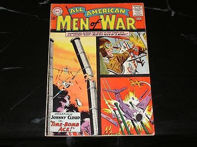 All American Men Of War #98 1963 The Time Bomb Ace 5.0 VG/FN Condition