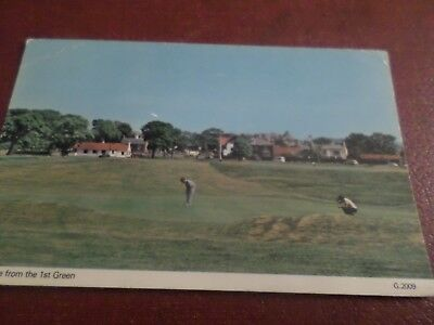 1984 Postcard Gullane From The 1st Green