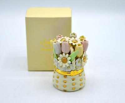 Lenox Treasures Bouquet Of Love - Trinket Box - In Box - 1st Issue