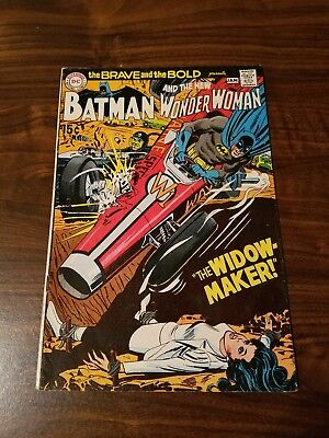 The Brave and the Bold #87 (Dec 1969-Jan 1970, DC) Wonder Woman