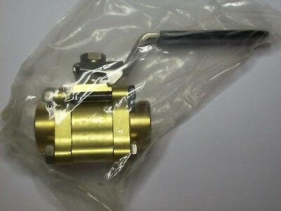 "Swagelok Whitey B-63TF6-T Brass Ball Valve, 60 Series,12 Cv, 1500 PSI, 3/8"" FNPT"
