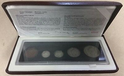 1908-1998 Canada 90th Anniversary Sterling Silver Proof Set!!!