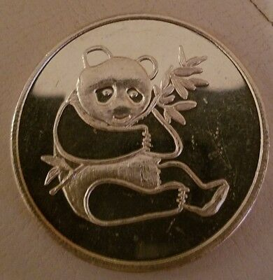Panda International Trade Unit 1 oz .999 Silver round