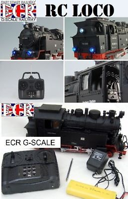 G SCALE RC LOCO RADIO CONTROL LOCOMOTIVE REMOTE GARDEN 45mm GAUGE RAILWAY TRAIN