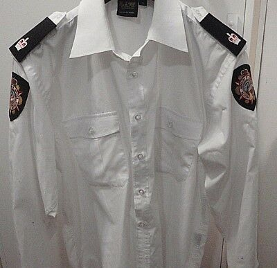 Obsolete Western Australia Corrections Officer Shirt with Ranks and Patches