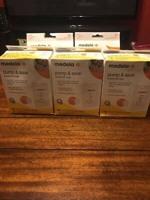 Medela Pump And Save Breastmilk Bags 50 Count Lot