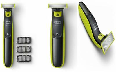 Philips Norelco OneBlade Hybrid Electric Trimmer and Shaver(QP2520/70 One Blade)