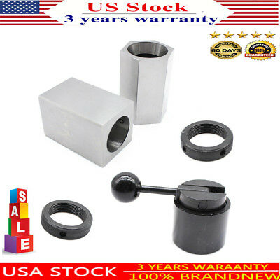 Black 5c Collet Block Chuck Set- Square or Hex and rings Workholding Closer Hold