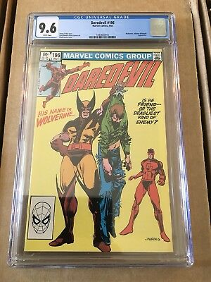 Marvel Daredevil 196 CGC 9.6 White Pages Wolverine