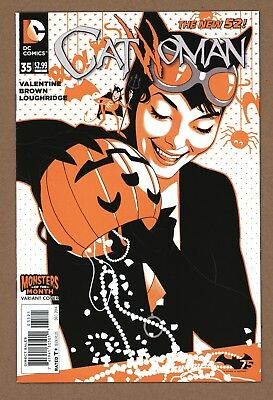 Catwoman 35 Joshua Middleton Monsters Variant Edition Unread New 52 2014