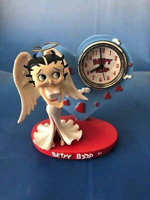 Betty Boop Angel Desk Clock