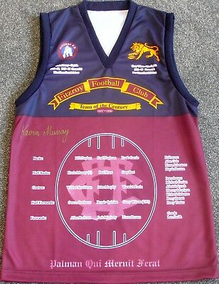 Fitzroy Lions  Kevin Murray  Hand Signed Jumper