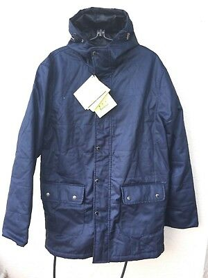 Barbour Flyweight Wax Hooded Jacket Sz Xl Nwt