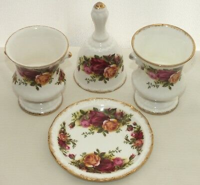 Royal Albert Old Country Roses Four Small Items
