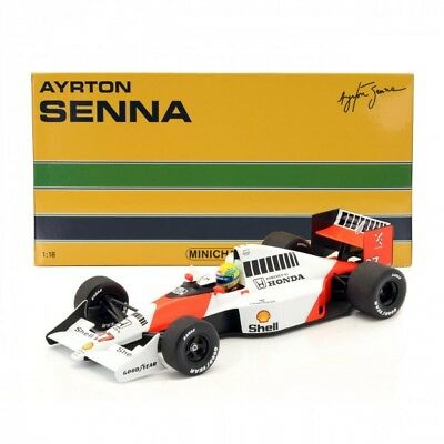 1:18 Ayrton Senna  Minichamps  1990 World Champion - McLaren Honda MP4-5B