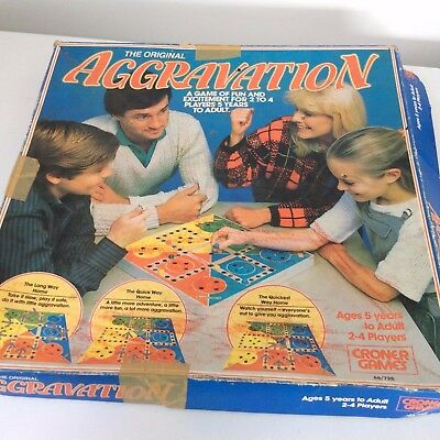 Aggravation Board Game.1976.croner Games