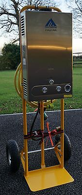 12l/min Horse Shower And Attachments On Trolley, FULLY CE CERTIFIED AND TESTED