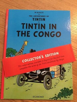 Tintin in the Congo by Herge COLLECTOR'S EDITION (Hardback, 2005)