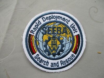 Abzeichen THW SEEBA, Search And Rescue, Rapid Deployment Unit