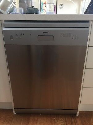 Smeg dishwasher stainless steel excellent condition 59cm (w)