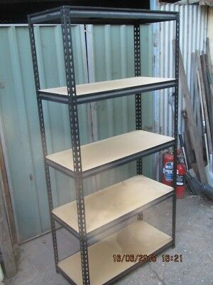 Metal Shelving Garage Storage Unit (Lot 2)