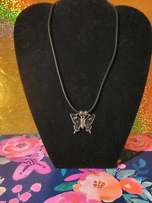 MOTHER OF PEARL ON BUTTERFLY PENDENT jewelry
