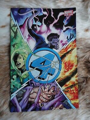 The Fantastic Four.#587.Marvel Comics.The Human Torch demise!.