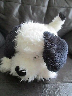 101 DALMATIONS fluffy Lucky large beanie bean plush soft toy VGC Disney Store #2