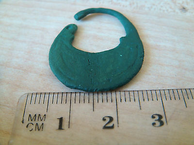 Ancient bronze earring jewelry