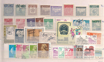 China Lot mit Briefmarken und Belegen