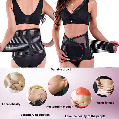Yoga SportBack Support Waist Brace Lower Lumbar Belt Strap Backache Pain Relief