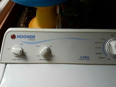 Hoover washing machine top loader 500MB