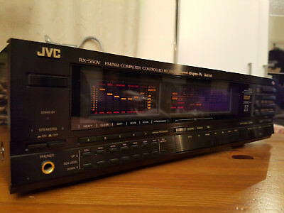 JVC RX-550V Amazing Computer Controlled Receiver DYNAMIC SUPER-A made in Japan