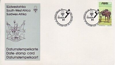 South West Africa - 5th International Stamp Fair, Essen '84 (M/S SC) 1984