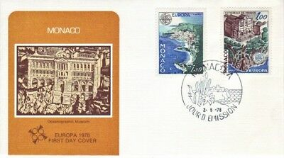 Monaco - Special Events, People & Anniversaries (2no. Other FDC's) 1976-78