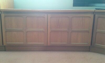 Two door cabinet by Nathan Furniture