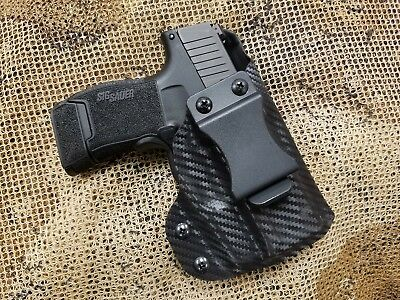 GUNNER's CUSTOM HOLSTERS IWB fits SIG SAUER P365 with Lima365 laser red or green