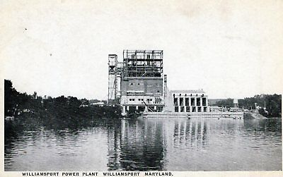 Williamsport,Md.View of the Power Plant