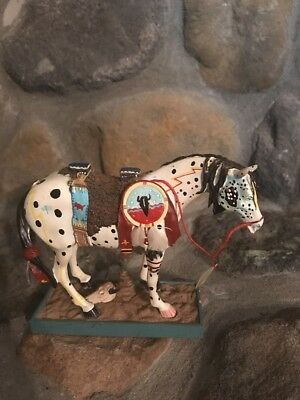 """2003 The Trail of Painted Ponies #1452 """" WAR PONY"""" 14E/7456"""