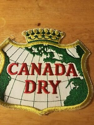 Canada Dry Soda  patch Soft Drink 6 inches  inches  Vintage