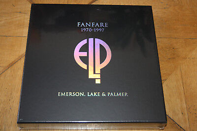 ELP Emerson, Lake & Palmer - Fanfare 1970-1997 Limited Box 22 CD Vinyl Box Set